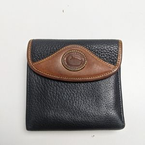 Vintage Dooney and Bourke Wallet Black Brown